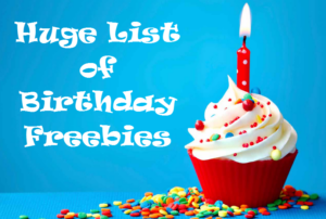 birthday discounts and freebies Consider The Consumer