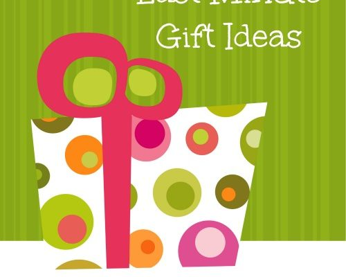 Last Minute Gift Ideas Consider The Consumer