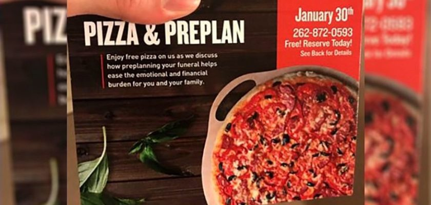 Funeral Home Pizza Consider The Consumer
