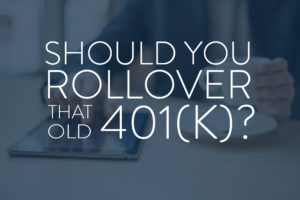 Consolidate Your 401(k) Consider The Consumer